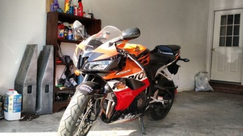 2007 Honda CBR Orange for sale craigslist