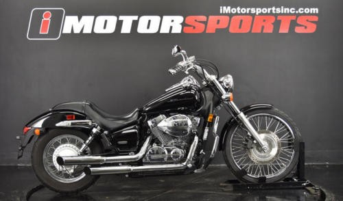 2007 Honda Shadow -- Black photo