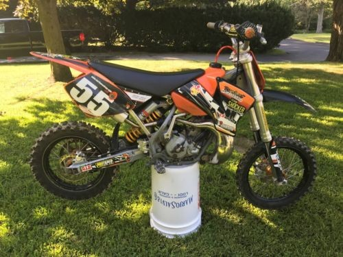 2007 KTM SX Orange photo