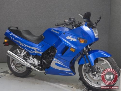 2007 Kawasaki Ninja Blue photo