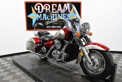 2007 Kawasaki Vulcan 1600 Nomad - VN1600D Managers Special -- Red for sale craigslist