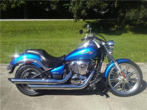 2007 Kawasaki Vulcan Custom Blue for sale