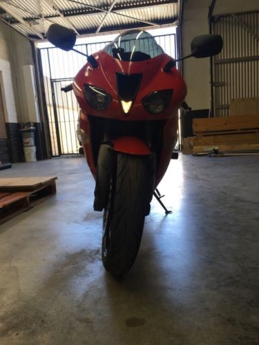 2007 Kawasaki ZX6R Red for sale craigslist