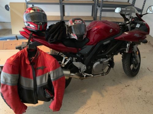 2007 Suzuki 650S Red photo