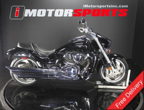 2007 Suzuki Boulevard — Black for sale