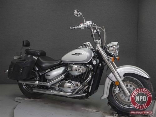 2007 Suzuki Boulevard SILVER/BLUE photo