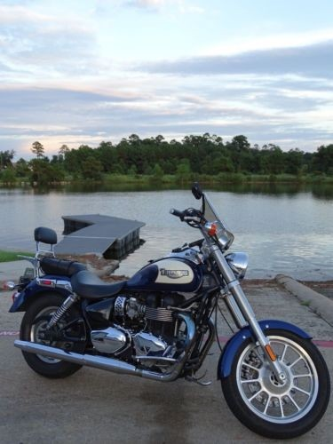 2007 Triumph Other Blue white photo
