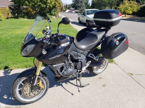 2007 Triumph Tiger Black photo