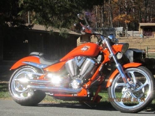 2007 Victory Jackpot Custom Orange Crush photo