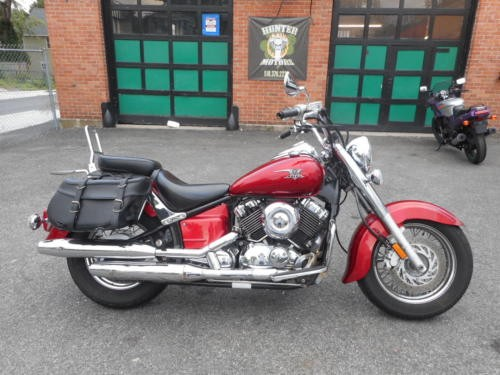 2007 Yamaha V Star Red for sale craigslist
