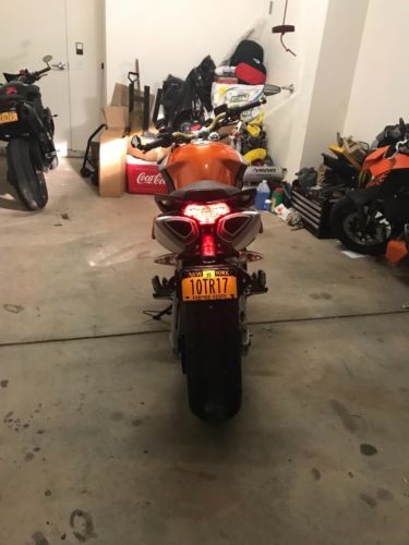 2008 Aprilia Shiver Orange photo