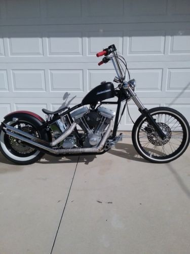 2008 Custom Built Motorcycles Bobber  photo