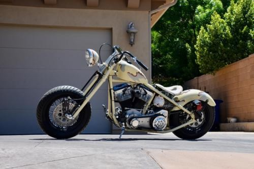 2008 Custom Built Motorcycles Bobber HUMM-C Desert Storm Camouflage for sale craigslist