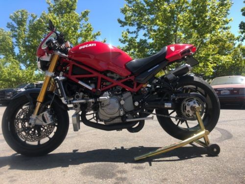 2008 Ducati Monster Red photo