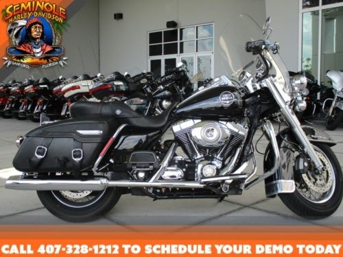 2008 Harley-Davidson FLHRC – Road King® Classic — Black for sale