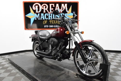 2008 Harley-Davidson FXSTB – Night Train — Red for sale craigslist