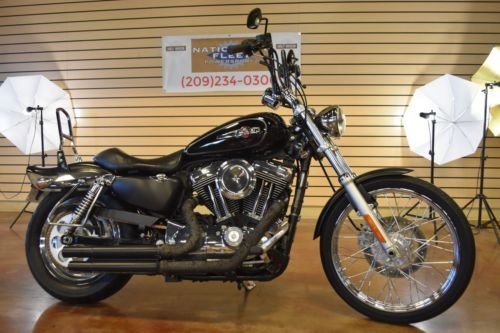2008 Harley-Davidson Sportster Black photo