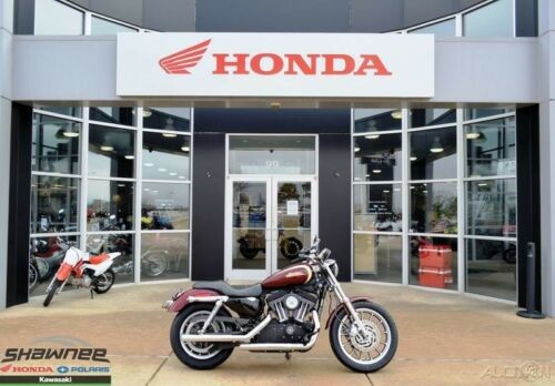 2008 Harley-Davidson Sportster Xl 1200R   1200 Roadste DARK RED photo