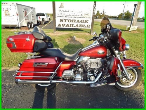 2008 Harley-Davidson Touring Ultra Classic® Electra Glide® Candy Red Sunglo photo