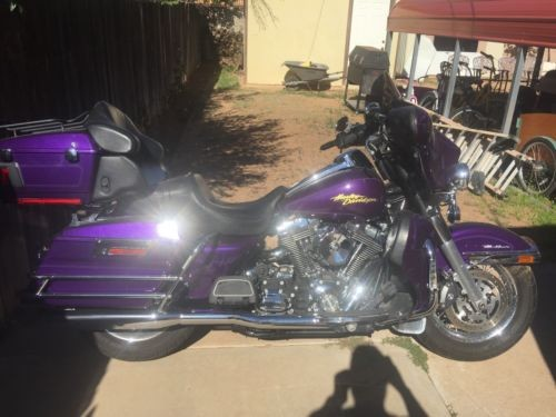 2008 Harley-Davidson Touring Purple photo