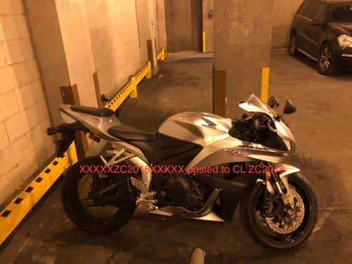 2008 Honda CBR silver/black for sale craigslist