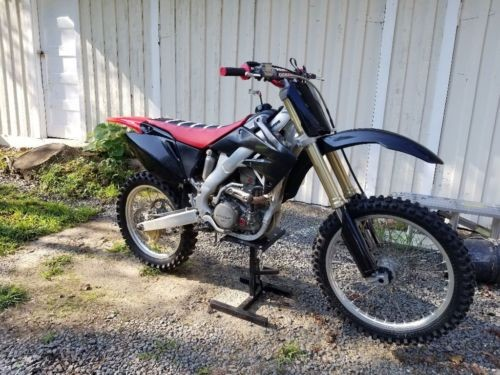 2008 Honda CRF Red photo