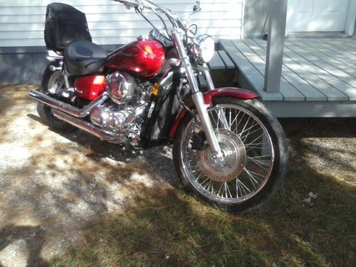 2008 Honda Shadow Red craigslist