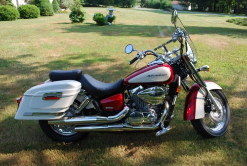 2008 Honda Shadow Red/White for sale craigslist