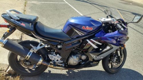 2008 Hyosung GT650R Blue for sale