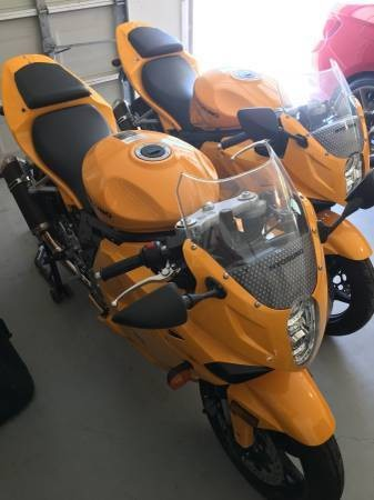 2008 Hyosung GT650R Yellow for sale craigslist