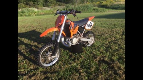 2008 KTM SX Orange photo