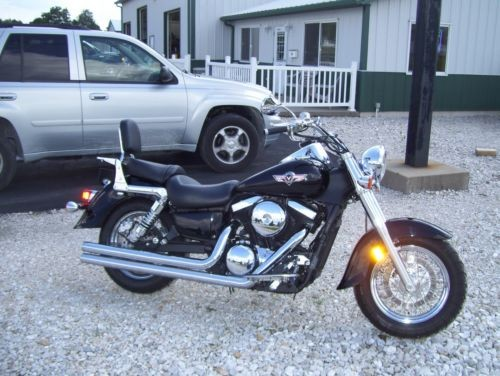2008 Kawasaki Vulcan Black photo