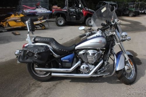 2008 Kawasaki Vulcan Blue/Gray photo