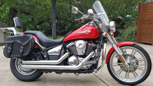 2008 Kawasaki Vulcan Red photo