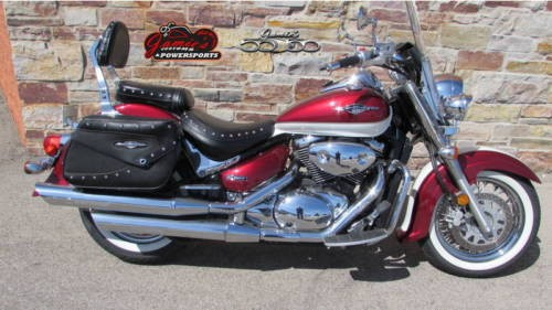 2008 Suzuki Boulevard C50T Red photo