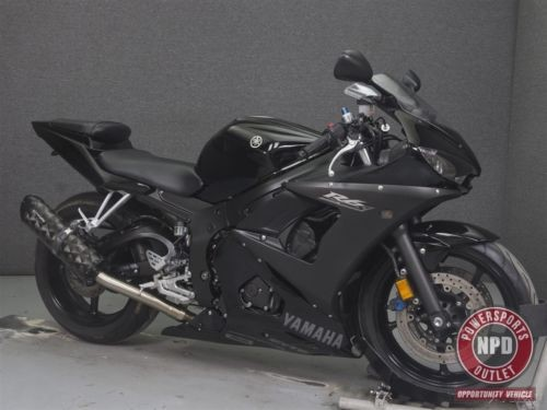 2008 Yamaha YZF Black photo