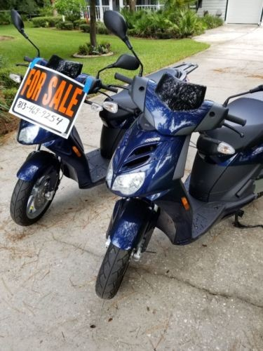 2009 Aprilia Scout City Blue photo