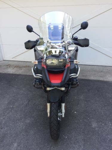 2009 BMW R1200 GS Adventure (GSA) Red for sale