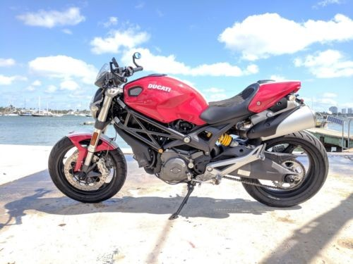 2009 Ducati Monster Red photo