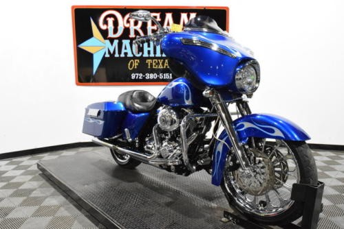2009 Harley-Davidson FLHX - Street Glide -- Blue photo