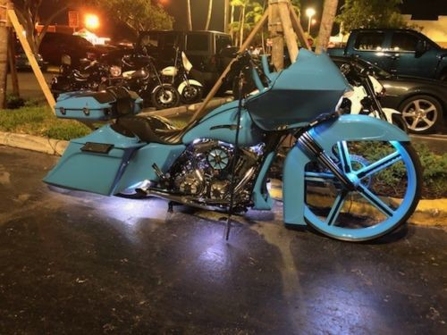 2009 Harley-Davidson Road Glide Sky Blue photo