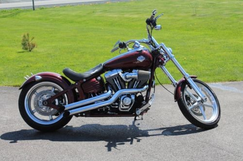 2009 Harley-Davidson Softail Red for sale craigslist