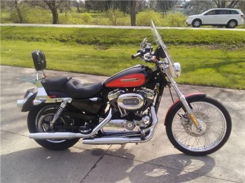 2009 Harley-Davidson Sportster -- Black photo