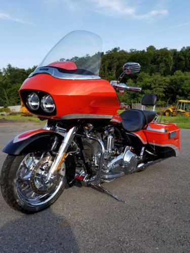 2009 Harley-Davidson Touring Orange and Black photo