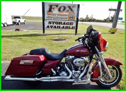 2009 Harley-Davidson Touring Street Glide® Red Hot Sunglo photo
