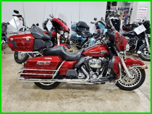 2009 Harley-Davidson Touring Red Hot Sunglo for sale