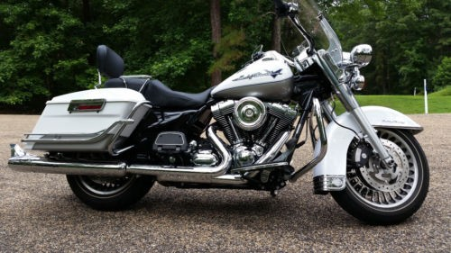 2009 Harley-Davidson Touring White Gold Pearl/Pewter Pearl metallic 2-tone for sale craigslist