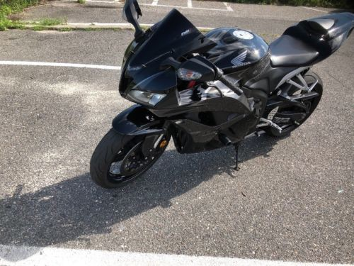 2009 Honda CBR Black photo