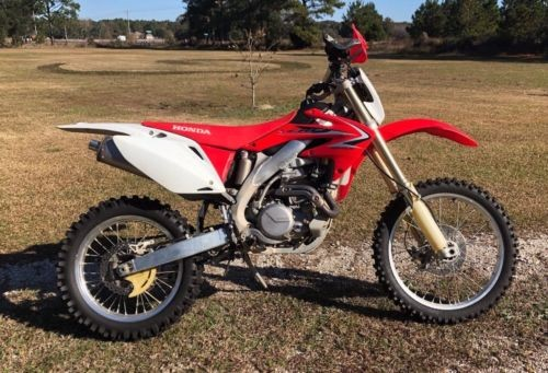 2009 Honda CRF Red photo