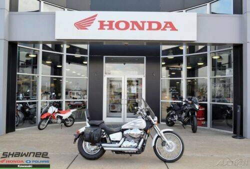 2009 Honda Shadow Spirit 750 white flame photo